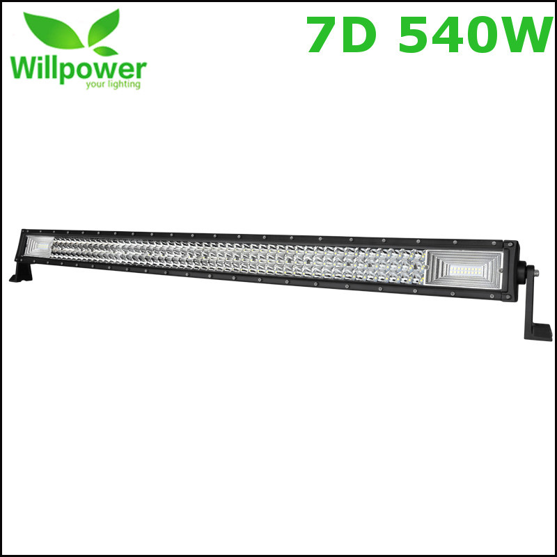 12v dual rows led driving light IP67 waterproof work light 540W 42 inch 7D offroad car led light bar 2pcs lot ip67 single rows 120w led work light bar 4x4 accessory led driving lights black house