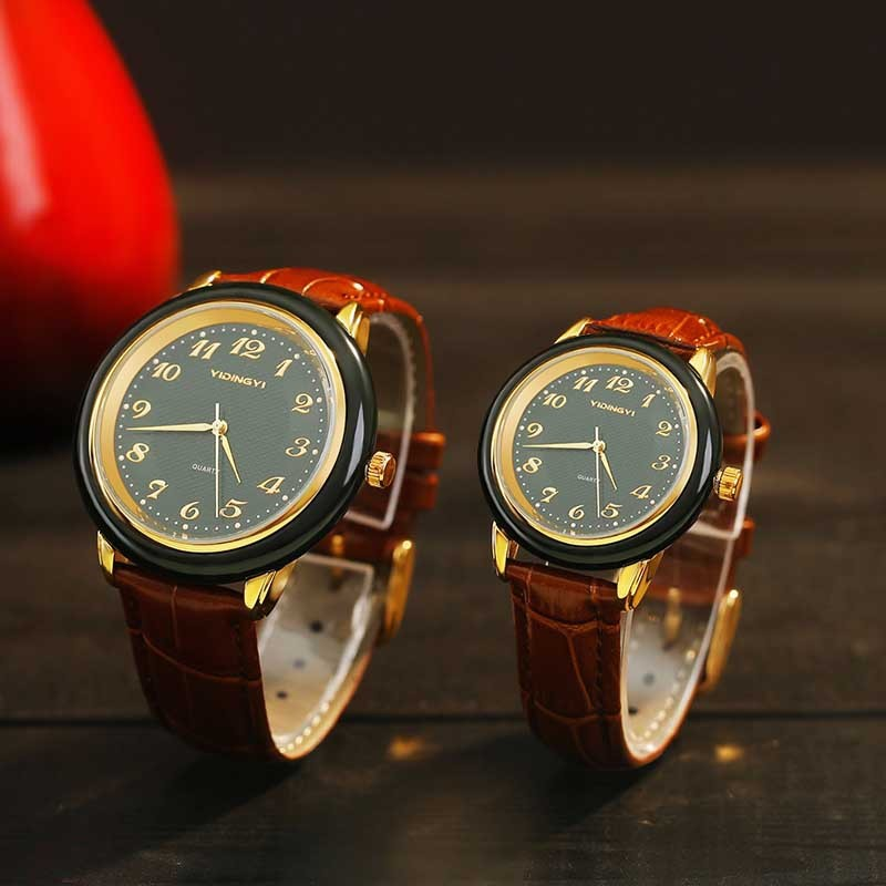 2019 Time-limited Male Jade Watch Quartz And Tian Moyu Business Waterproof Factory Direct Selling One Substitute