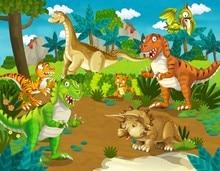 Jurassic park Dinossauro Animais Da Floresta de Terra Fundos Fotografia Vinil pano de fundo Do Computador pano de impressão dos miúdos das crianças