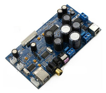 Free Shipping!!! Pure digital power amplifier board / with coaxial fiber / USB input 50W + 50W support 2.1 / 2.0 mode