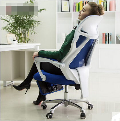 Купить с кэшбэком Home office chairs ergonomic mesh chairs turn the footrest Staff Chair