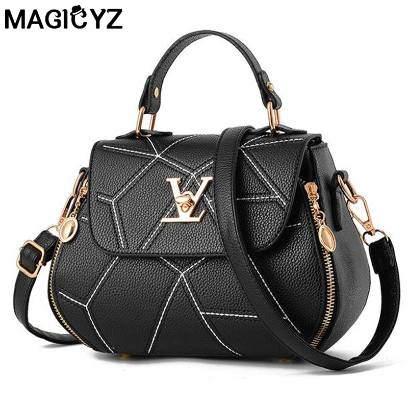 Famose Brand Womens Bag Luxury Leathe Handbags Shell thread Ladies Clutch Designer Bag Sac A Main
