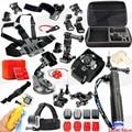 Câmera de ação de esportes kit acessórios para gopro hero 5 3 3 + 4 sessão de sj4000 sjcam sj5000 sj6000 sj7000 eken h9r h9 ação câmera