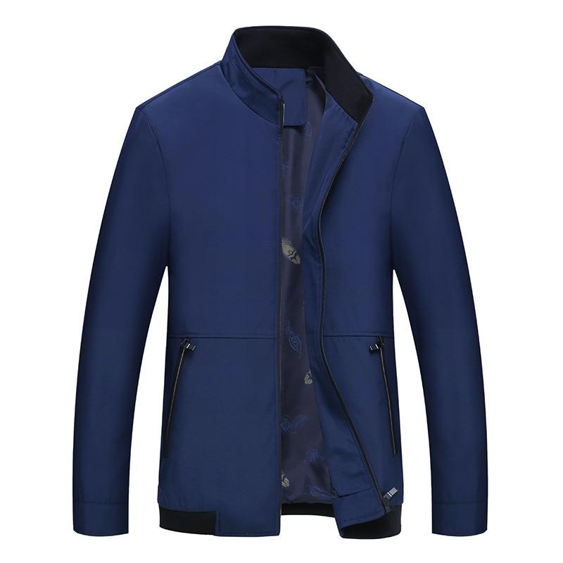 Summer Polyester Men Streetwear Jacket Classic High Quality Brand Windbreak Male Fashion Thin Business Outwear Coat M 3XL XMR17