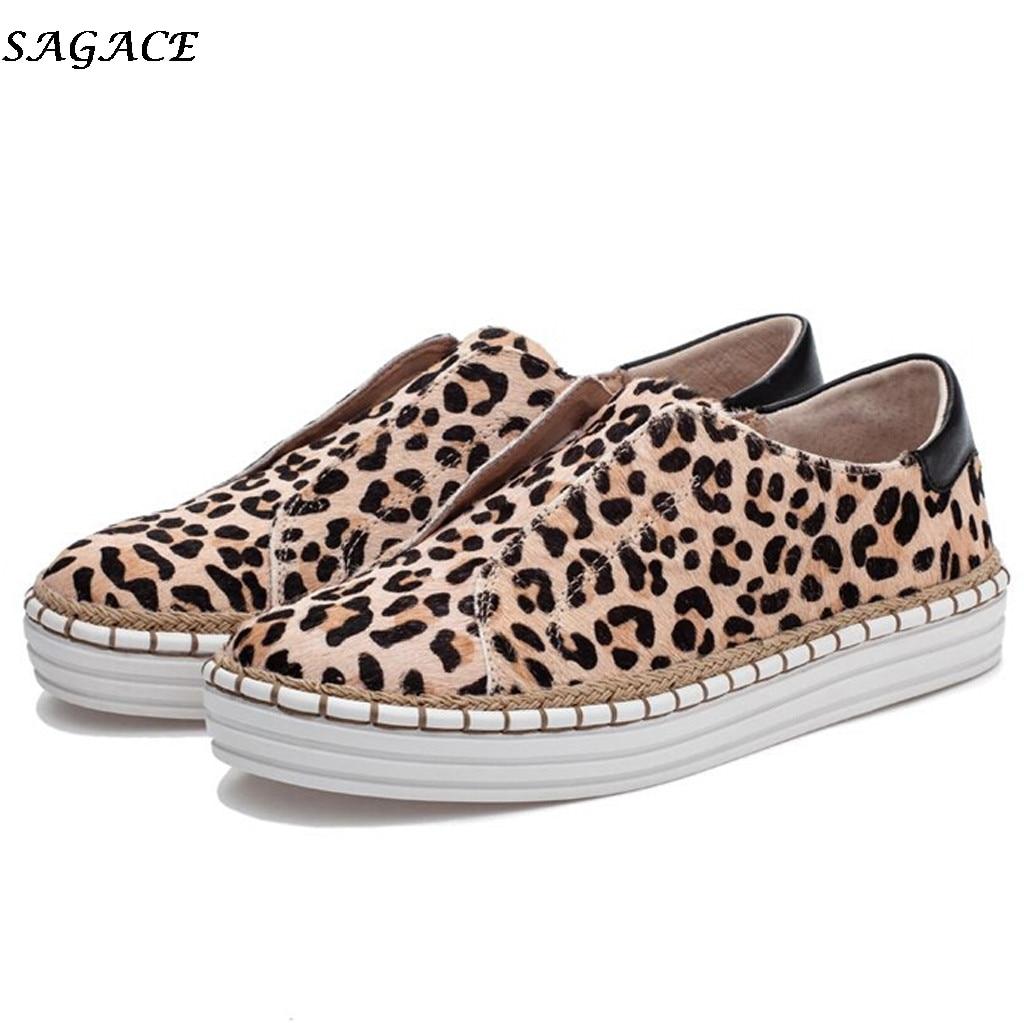 SAGACE women flats shoes Slip On Casual