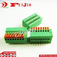 20PCS Lot 141R 2 54 8P 8Pin PCB Spring Terminal Block ROHS connector Pitch 2 54mm