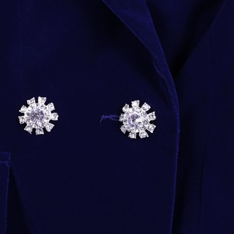 Image 5 - Conjuntos de verano Ocstrade para mujeres 2019 nuevo azul marino cuello en V manga larga Sexy conjunto de 2 piezas trajes de alta calidad conjunto de dos piezas-in Conjuntos de mujer from Ropa de mujer on AliExpress