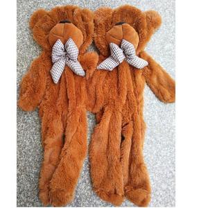 Image 3 - Oso de peluche gigante sin relleno de 60cm a 200cm, juguete de piel de oso de peluche, 7 colores