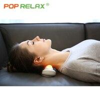 POP RELAX health care 5 balls jade roller massager body rolling massage thermal heating Korea ceragem handheld projector heater