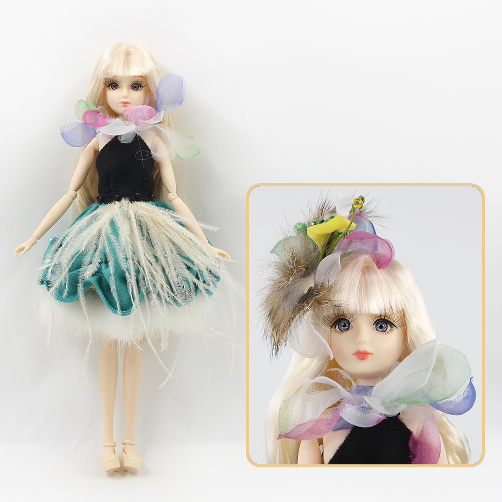 ICY Free shipping BLYTH bjd neo Fortune days fashoin flower doll Xiaojing JOINT body golden hair dress box shoes stand toy gift free shipping icy doll joint body natural skin black hair bjd toy gift bl117