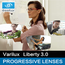 אסילור Varilux עדשות מתקדמות 1.50 1.56 1.59 (להוסיף 0.75 ~ 3.50) חירות 3.0 מרשם משקפיים עדשות המולטי