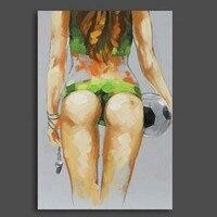 Handpainted Nude Tranh Sơn Dầu Lớn Sexy Girl Hình Ảnh Lớn Phụ Nữ Dao Tranh Hiện Đại Tóm Tắt Trang Trí Nội Thất Wall Art trên Canvas