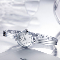Kimio Horloges Vrouwen Relojes Mujer For Fashion Ladies Birthday Gift Round Dial Gold Chain Quartz Digital