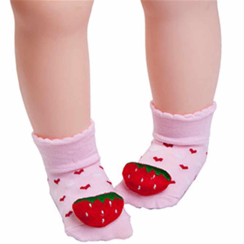 Lawadka Детские носки из хлопка для новорожденных мультфильм Детские носки зимние для мальчиков и девочек Нескользящие носки ботинки детская одежда аксессуары