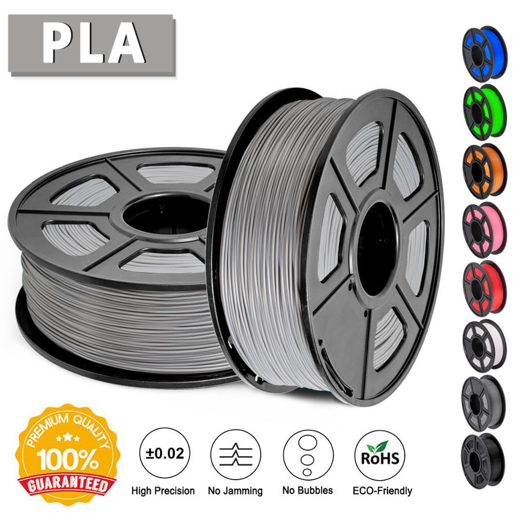 SUNLU 3D Printer Filament PLA 1 75mm 1KG Roll Eco friendly Filament Extruder No Bubble Best