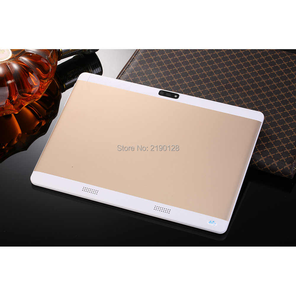 2019 1280X800 Android 7.0 10 inch Tablet PC Octa Core  MTK8752 GPS WIFI Bluetooth  3G Phone Call Tablets 10.1 +Gift