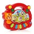 Vermelho Do Bebê Dos Miúdos Das Crianças Animais da Fazenda Musical Piano Developmental Brinquedo Educativo