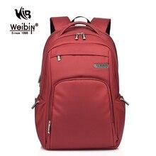 Weibin High Quality Waterproof Nylon Backpack College School Student Backpacks Casual Rucksacks Male Laptop Bag Sac