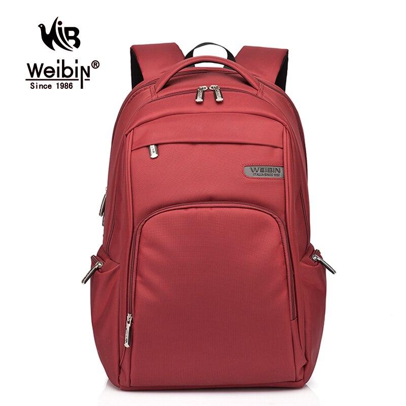 Weibin High Quality Waterproof Nylon font b Backpack b font College School Student font b Backpacks