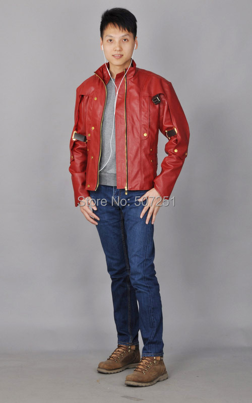 Guardians of the Galaxy Film Star Lord  / Peter Quill Leader Cosplay Jacket