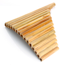 15 Pipes Professional Bamboo Pan Flute Handmade Panflute Panpipes Flauta Xiao Woodwind Musical Instrument Panflute Xiao