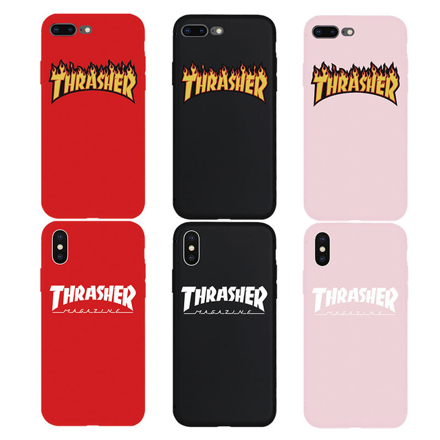 new concept 62358 99e54 US $0.87 71% OFF|Hyper Street Culture Skateboard Cool Soft Case for iPhone  7Plus 8Plus X Xs Max XR 8 7 6 6s Plus 5 5s SE Phone TPU Silicone Cover-in  ...