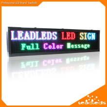 P10 Outdoor IP65 Waterproof RGB 7Color LED Sign Board TCP/IP Programmable Scrolling Edit Message LED Advertising Display Board