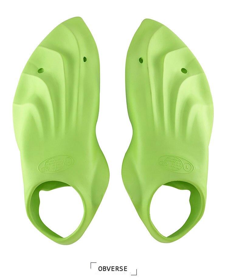 Palmes de natation d'entraînement professionnel souple confort souple palmes de plongée pour adultes - 2