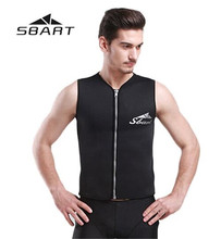 SBART Men Women Neoprene 3MM Diving Vest Wetsuit Scuba Swimming Suit Swimsuit Surfing Vest Dive Bathing Suit Wetsuits sbart women full body scuba dive wet suit 3mm neoprene wetsuits winter swim surfing snorkeling spearfishing water swimsuit