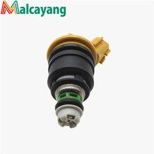 1 Шт. Желтый Поток Matched 555cc Nismo Сторона Подачи Топлива Инжектор для Nissan 300ZX Z32 VG30DETT RB25DET SR20DET KA24 16600-RR543