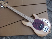 Wholesale New musicman 4 string electric bass guitar in Natural Bass guitar 110122