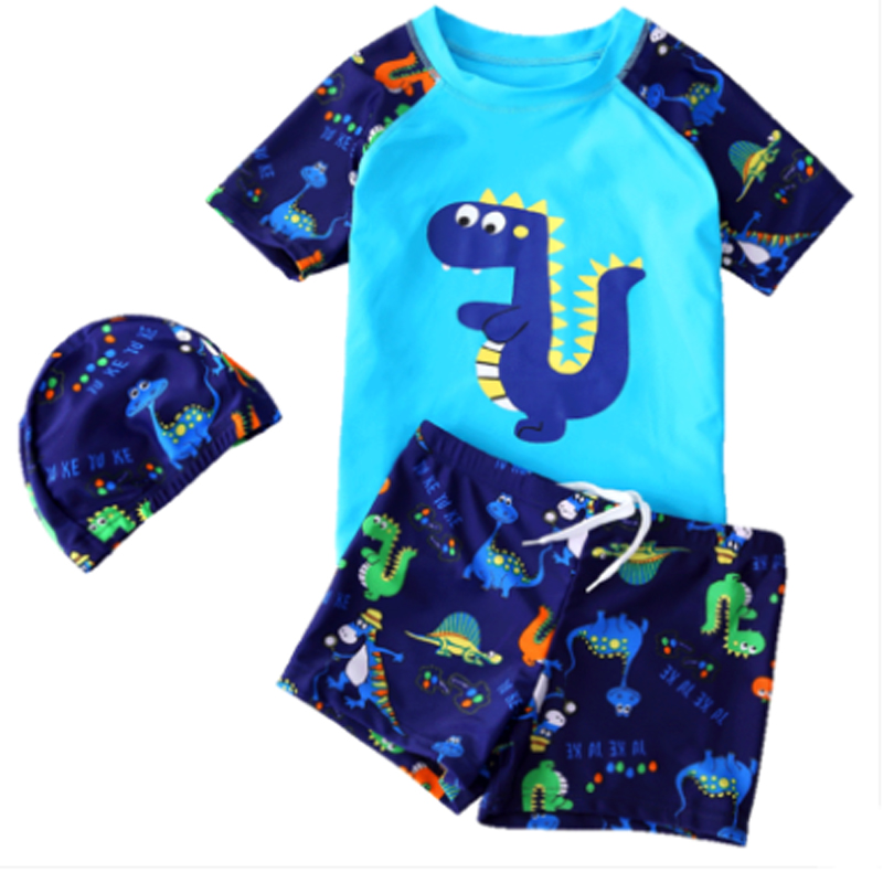 2-13 Year Children Boys Dinosaur Swimsuit,Summer Boy Swimming Trunk Bathing Shorts,Carto ...
