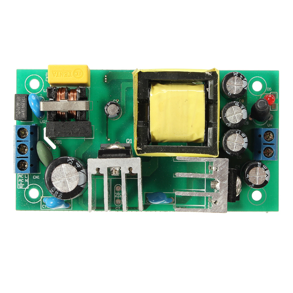 1PC New AC-DC 24W Isolated AC110V / 220V To DC 12V 2A Switch Power Supply Converter Active Components Board