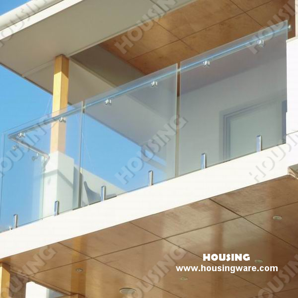 Resonable Price Frameless Glass Balustrade With Stainless Steel | Glass Banisters For Stairs Price | Floating Staircase | Railing | Stair Railing Systems | Stainless Steel | Stair Case