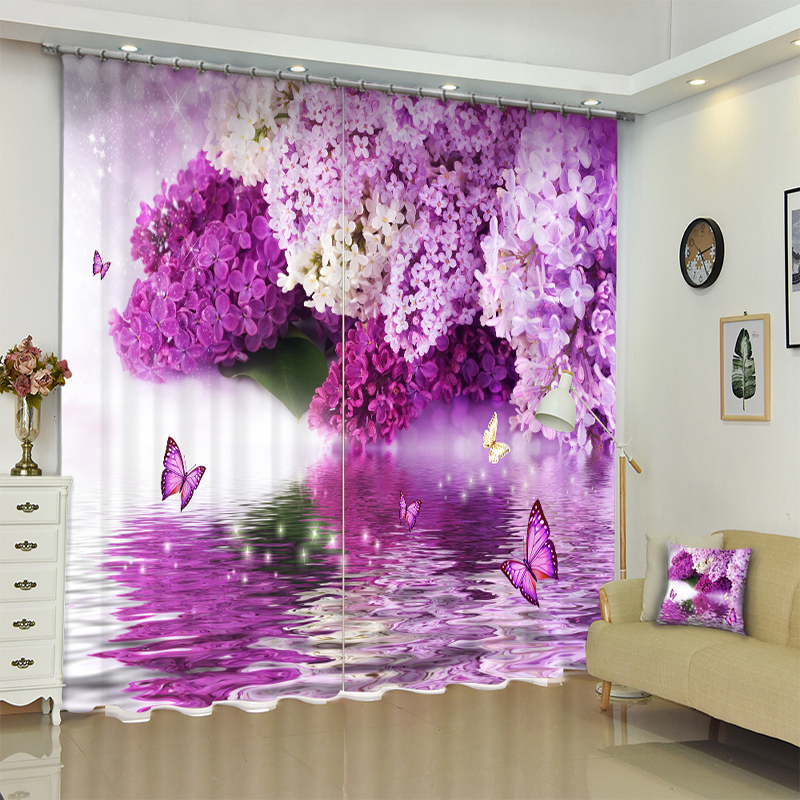 check MRP of purple colour curtains