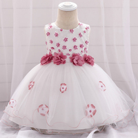 Baby Girls Dresses for Kids 3 6 9 12 18 24 Months Toddler Girl Princess Tutu Dress Kids 1st Years Birthday Party Vestidos B6A2G
