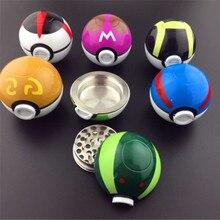 Специй pokeball табака херб pokemon цинковый grinder использовать сплав материал слой