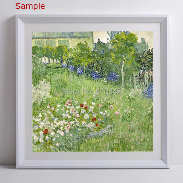 Modern wooden Frame for oil paintings and prints white frame photo ...