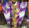 Африканские платья для женщин Плюс размер африканские одежды Базен riche Африканский Headtie Хлопка печати Вышивка