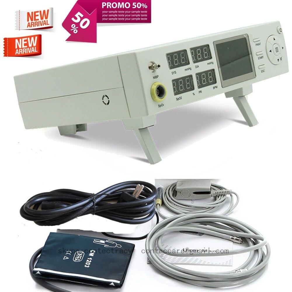Vital Moniteur Patient avec Intégré imprimante thermique, SPO2, PNI, PR CMS5000C, CONTEC