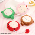 Candice guo cute cartoon animal tape measure mini plush flexible rule funny toy Frog bear strawberry pig style 150cm 2pcs/lot