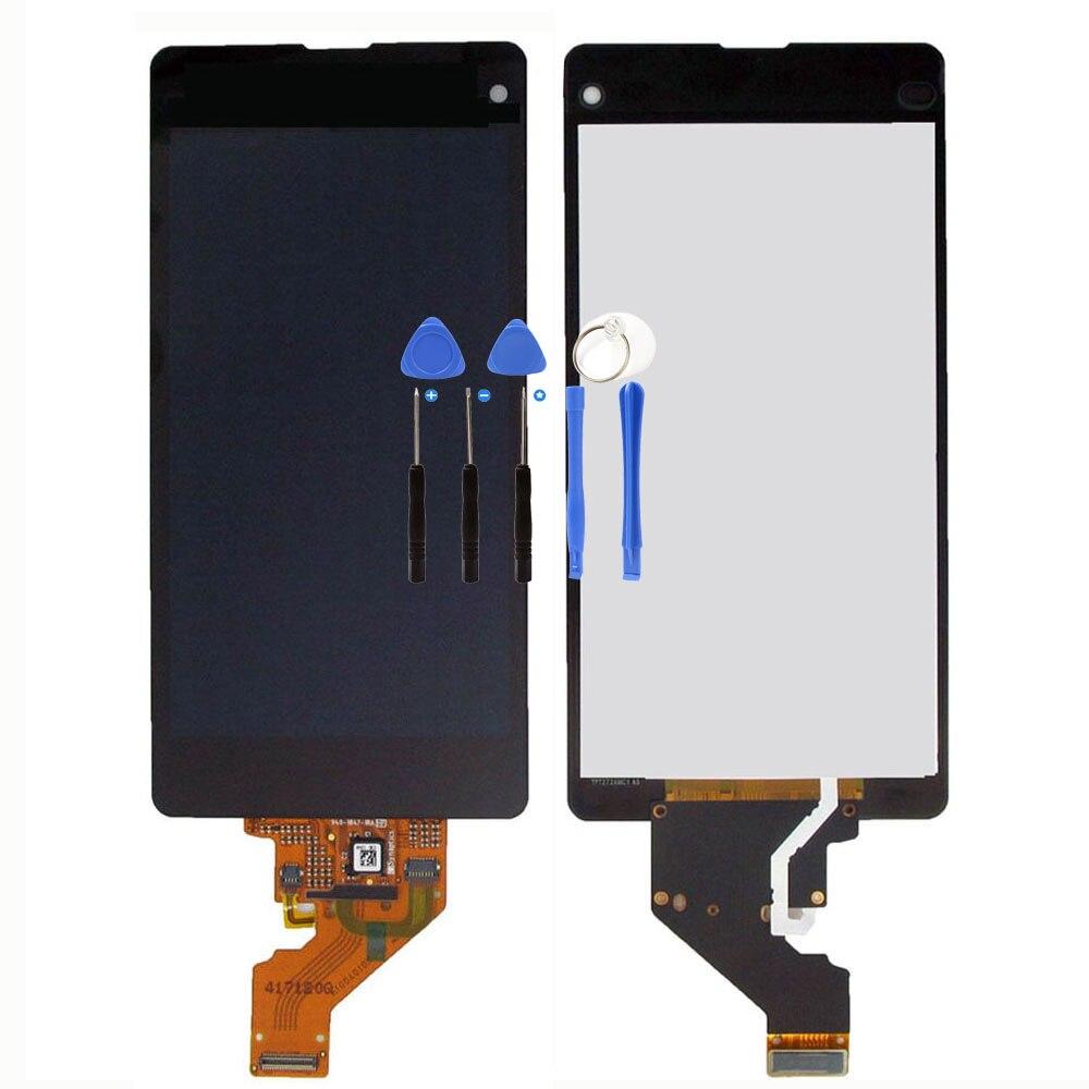 imágenes para Pantalla LCD Digitalizador Para Xperia Z1 mini Compacto D5503 M51W LCD Asamblea de Pantalla Táctil Para Xperia Lcd + Herramienta Gratuita gratis