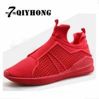 QIYHONG 7 Ye Hong Air Mesh Fabric Men S Casual Shoes 2017 Spring Hot Fashion Breathable