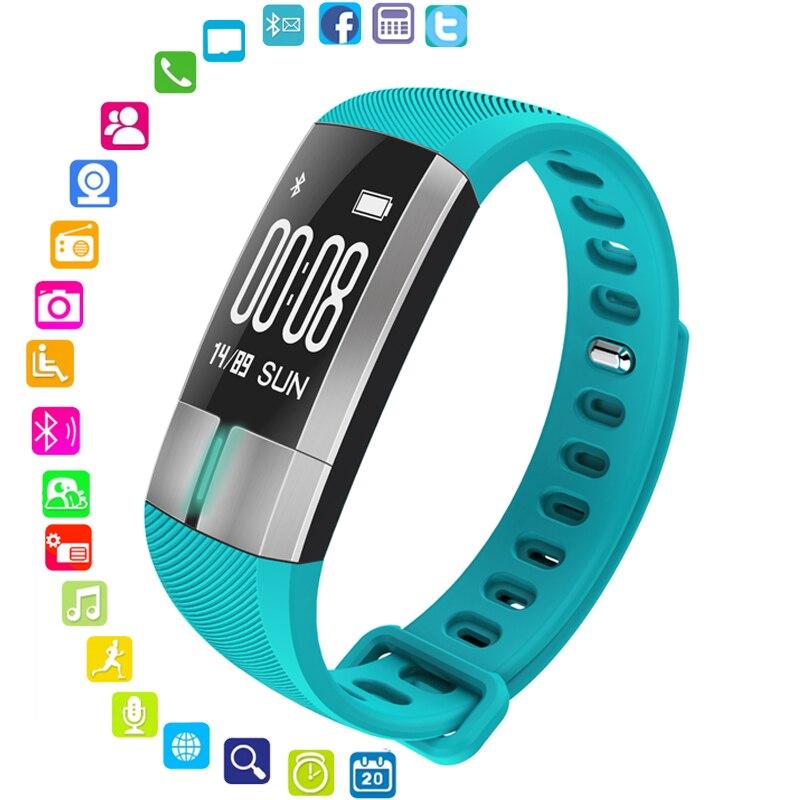 Offre spéciale Bluetooth montres intelligentes pour les femmes Bracelet de Sport en calories moniteur de sommeil de pression artérielle montre Bracelet intelligente pour Android IOS-in Montres femme from Montres    1