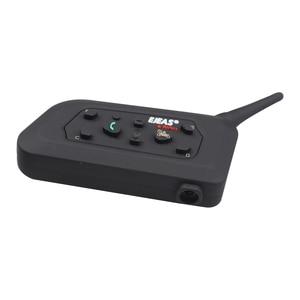 Image 2 - 2 stücke EJEAS V6 PRO Bluetooth Motorrad Intercom Helm Headset 6 Fahrer 1200m Kommunikator Sprech + Metall Schiene