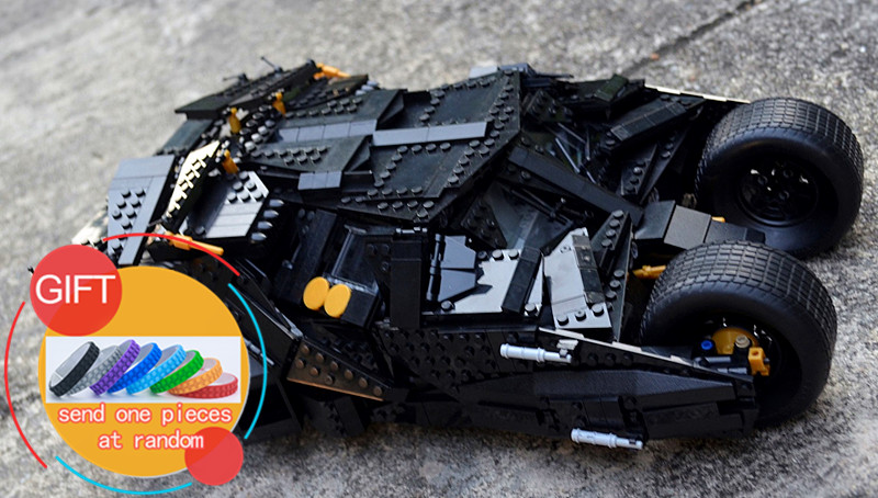 34005 1881pcs Super Hero Batman The Tumbler set Building Bricks Blocks Gift Toys for Children Compatible with 07060 lepin building blocks super heroes batman chariot the tumbler batmobile batwing joker mini bricks 34005 07060 lepintoys