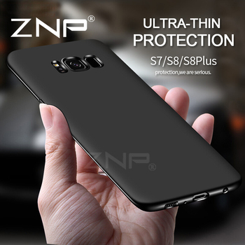 ZNP Ultra Thin Silicone Soft TPU Cover Cases for Samsung Galaxy S6 S7 Edge S8 Plus J1 J3 J5 J7 A3 A5 A7 2015 2016 2017 Case p30