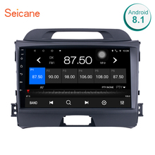 Seicane Android 9.0 8-core Car Radio GPS 2Din Multimedia Player For 2010 2011 2012 2013 2014 2015 KIA Sportage with Bluetooth