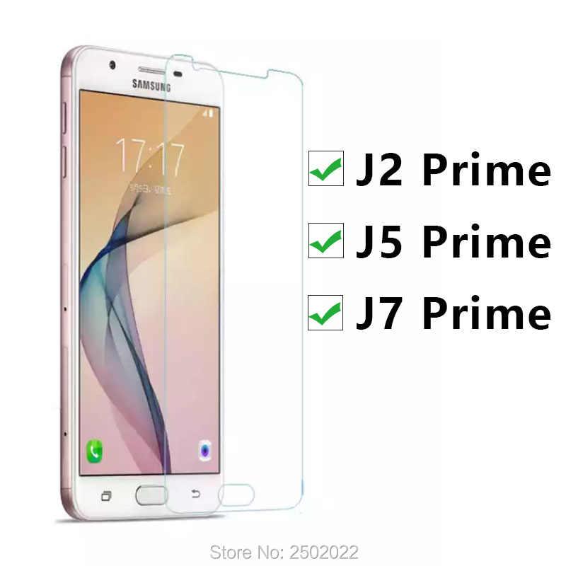 Vidro protetor para samsung j2 prime j5 j7 j 2 5 7 2j, vidro temperado protetor de tela para samsung j2 filme prime j2prime j5prime j7prime