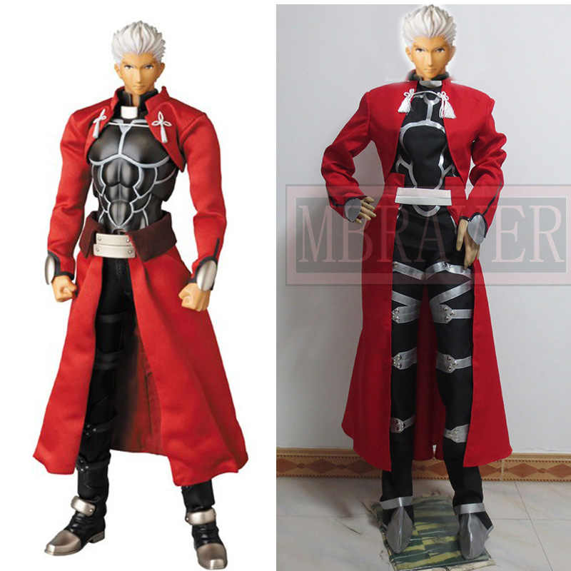 Fate Stay Night Archer Emiya Shirou Cosplay Kostuum Halloween Gratis Verzending
